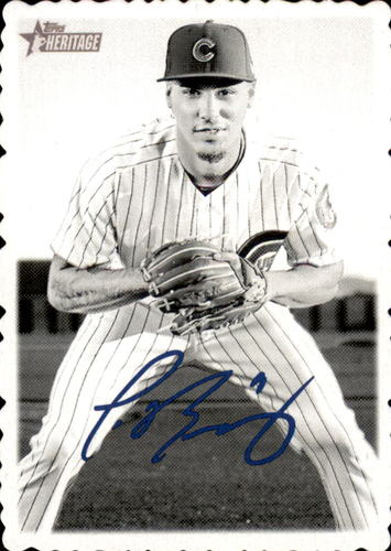 Photo of 2018 Topps Heritage High Number '69 Topps Deckle Edge #15 Javier Baez
