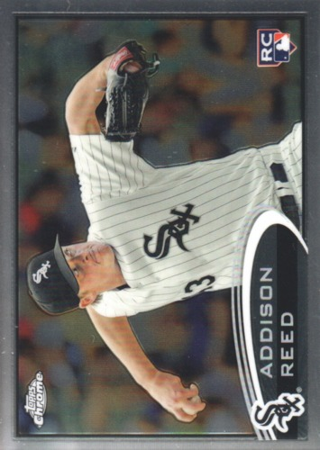 Photo of 2012 Topps Chrome #166 Addison Reed RC