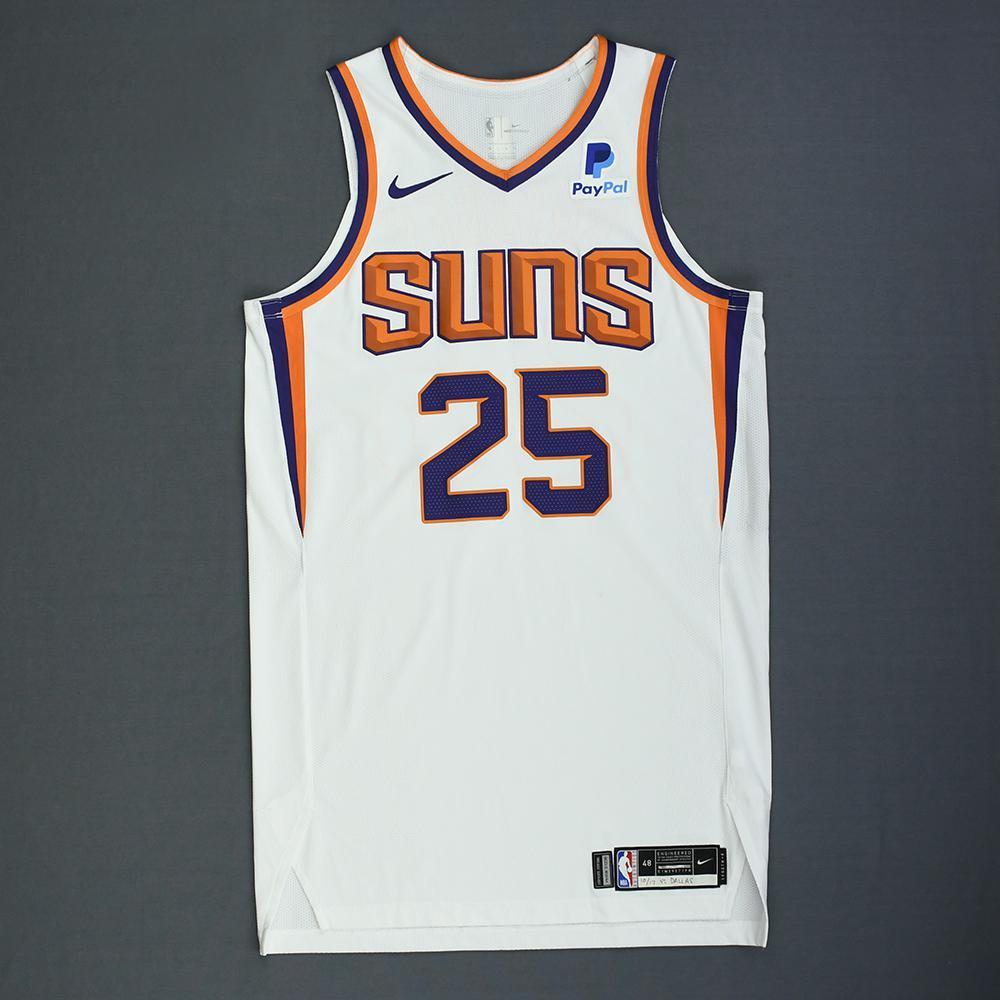 innovative design 961b2 1a054 Mikal Bridges - Phoenix Suns - Rookie-Debut - Game-Worn ...