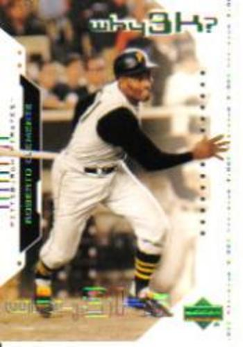 Photo of 2000 Upper Deck Hitter's Club #56 Roberto Clemente W3K