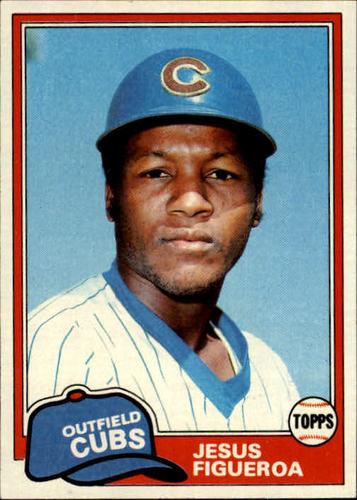 Photo of 1981 Topps #533 Jesus Figueroa RC