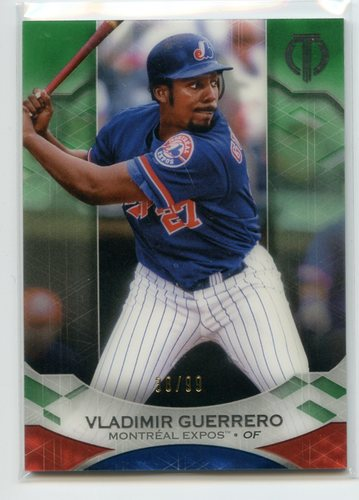 Photo of 2019 Topps Tribute Green #15 Vladimir Guerrero 38/99