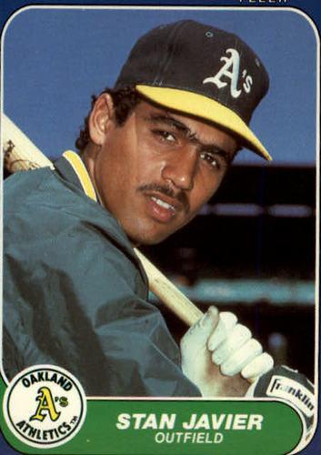 Photo of 1986 Fleer Update #56 Stan Javier XRC*