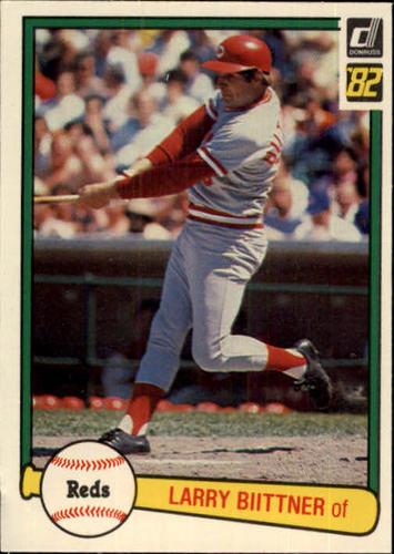 Photo of 1982 Donruss #43 Larry Biittner