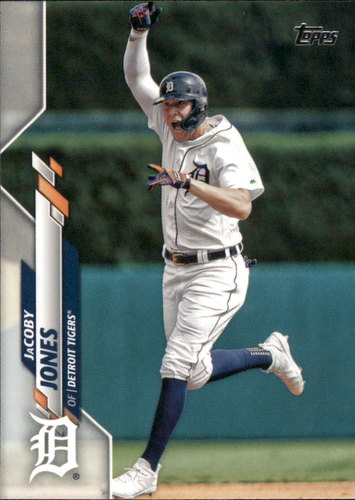 Photo of 2020 Topps #5 JaCoby Jones