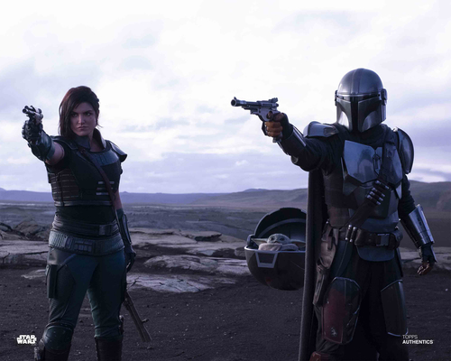 The Mandalorian, Cara Dune and The Child