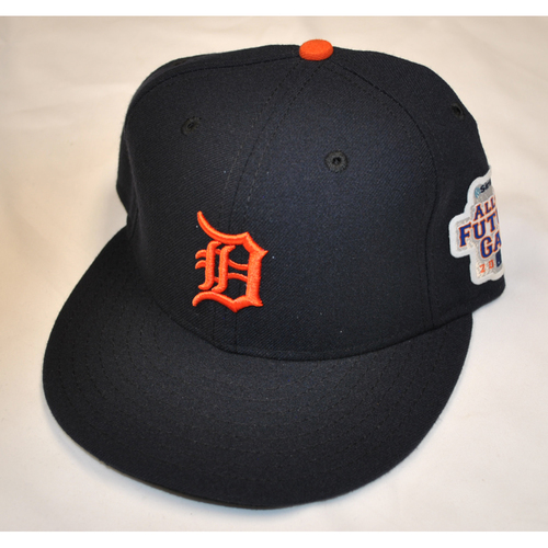 Photo of Game-Used Cap - 2013 All-Star Futures Game - Jordan Lennerton (Detroit Tigers) - Size 7 1/8