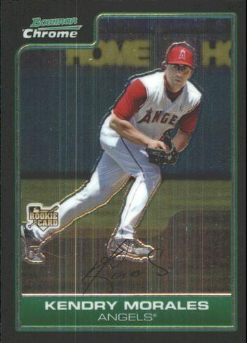 Photo of 2006 Bowman Chrome Draft #21 Kendry Morales (RC)