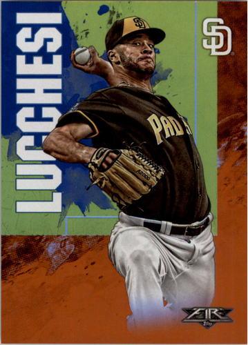 Photo of 2019 Topps Fire Orange #136 Joey Lucchesi