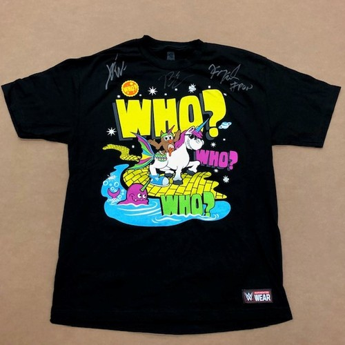 "Photo of The New Day SIGNED ""New Day and Friends"" Authentic T-Shirt"