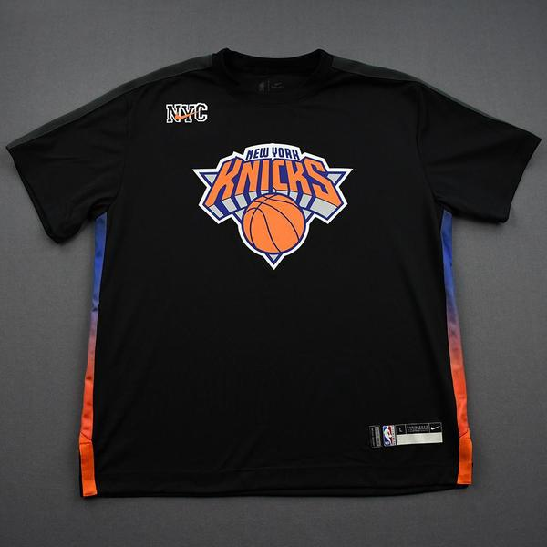 Image of Obi Toppin - Game-Worn 2021 AT&T Slam Dunk Shooting Shirt