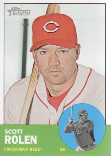 Photo of 2012 Topps Heritage #203 Scott Rolen