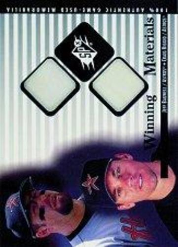 Photo of 2000 SPx Winning Materials Update #JBCB J.Bagwell/C.Biggio