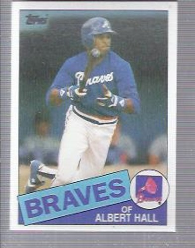 Photo of 1985 Topps #676 Albert Hall