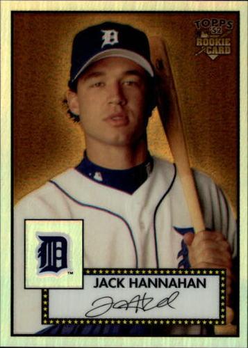 Photo of 2006 Topps 52 Chrome Refractors #86 Jack Hannahan