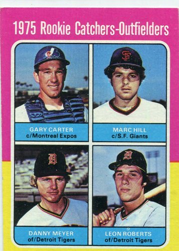 Photo of 1975 Topps #620 Rookie Catchers Gary Carter Rookie Card Hall of Fame Class of 2003