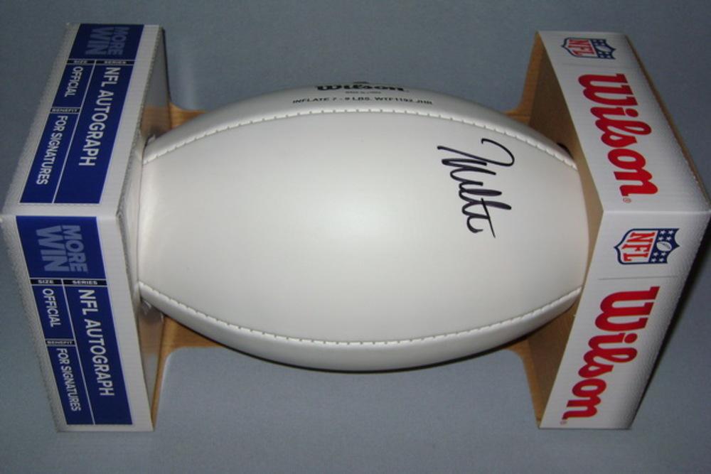 NFL - JONATHAN WALTON SIGNED PANEL BALL
