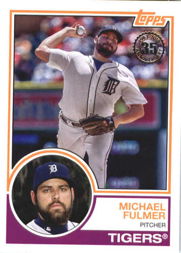 Photo of 2018 Topps '83 Topps #8333 Michael Fulmer