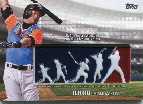 Photo of 2018 Topps Players Weekend Patches #PWPI Ichiro