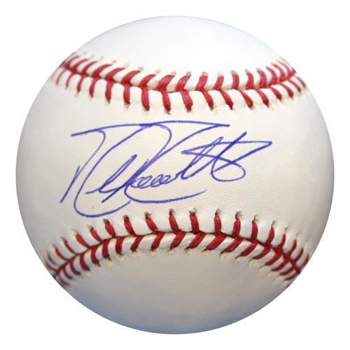 Photo of Autographed Baseball: Mike Moustakas