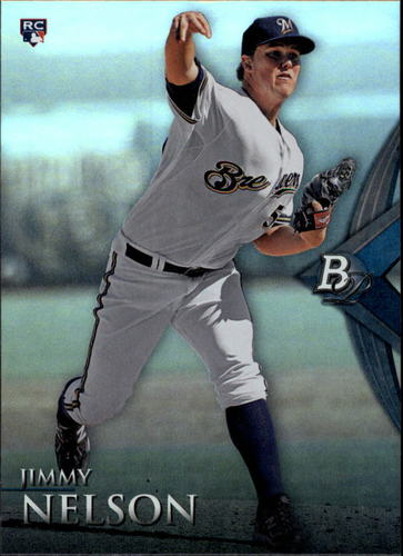 Photo of 2014 Bowman Platinum #88 Jimmy Nelson RC