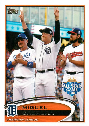 Photo of 2012 Topps Update #US246 Miguel Cabrera