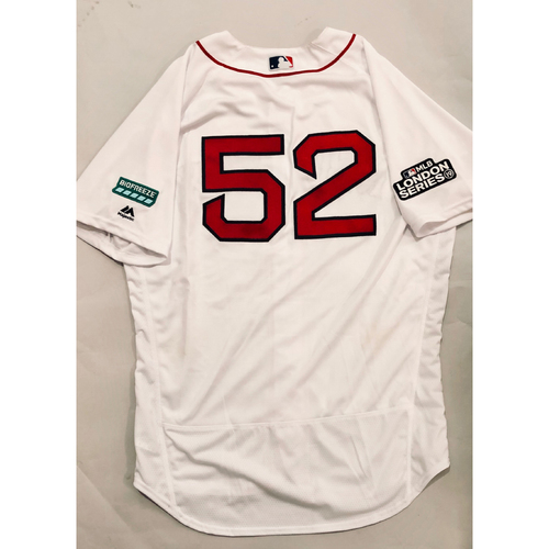 Photo of 2019 London Series - Game-Used Jersey - Carlos Febles, New York Yankees vs Boston Red Sox - 6/29/19