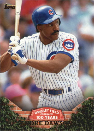 Photo of 2016 Topps 100 Years at Wrigley Field #WRIG34 Andre Dawson