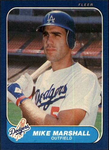 Photo of 1986 Fleer #137 Mike Marshall