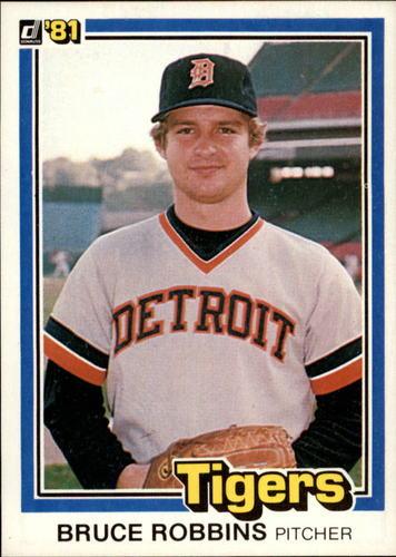 Photo of 1981 Donruss #129 Bruce Robbins
