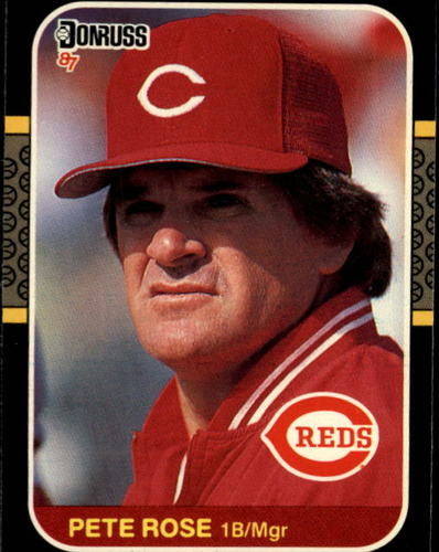 Photo of 1987 Donruss #186 Pete Rose