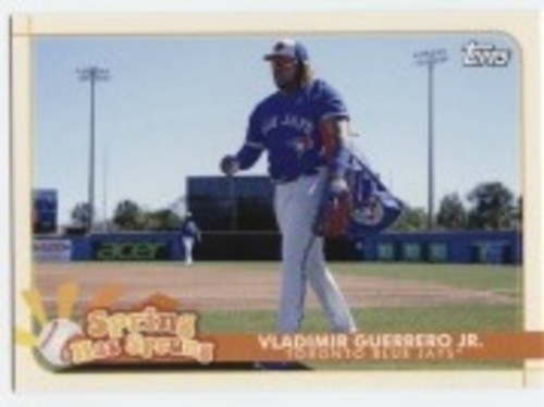 Photo of 2020 Topps Opening Day Spring Has Sprung #SHS21 Vladimir Guerrero Jr.