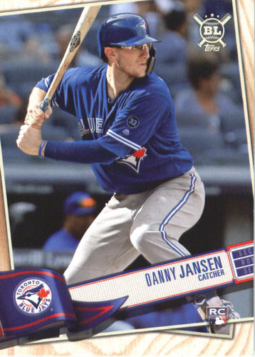 Photo of 2019 Topps Big League #163 Danny Jansen RC
