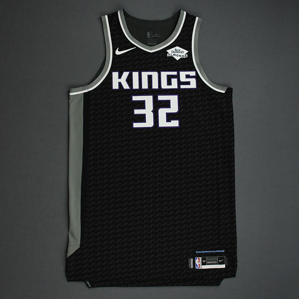 Wenyen Gabriel - Sacramento Kings - Game-Issued Statement Edition Jersey - NBA India Games - 2019-20 NBA Season
