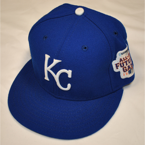 Photo of Game-Used Cap - 2013 All-Star Futures Game - Miguel Almonte (Kansas City Royals) - Size 7 1/4