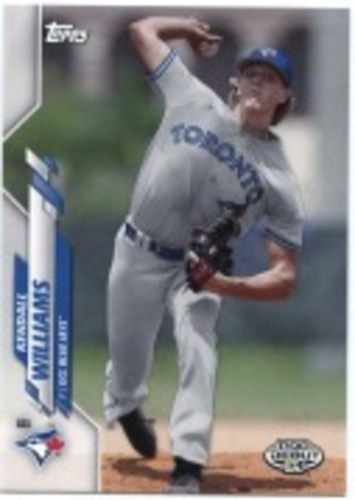 Photo of 2020 Topps Pro Debut #PD81 Kendall Williams