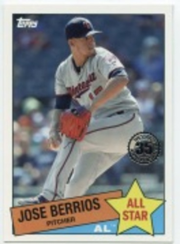 Photo of 2020 Topps '85 Topps All Stars #85AS48 Jose Berrios