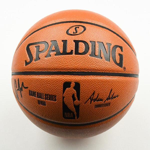 Image of Cameron Johnson - Phoenix Suns - 2019 NBA Draft Class - Autographed Basketball