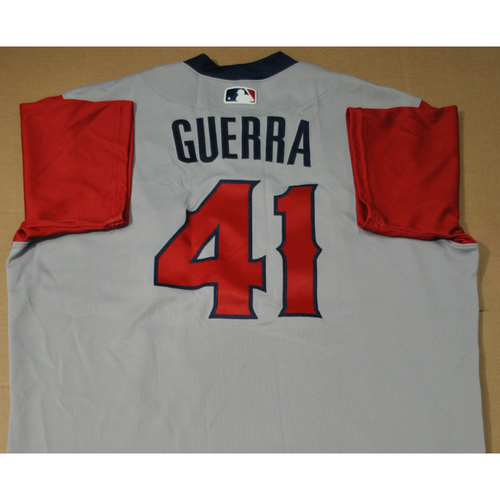 Photo of Game-used Jersey - 2021 Little League Classic - Los Angeles Angels vs. Cleveland Indians - 8/22/2021 - West, Junior Guerra #41
