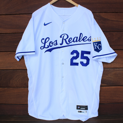 Photo of Game-Used Los Reales Jersey: Vance Wilson #25 (SEA@KC 9/17/21) - Size 50