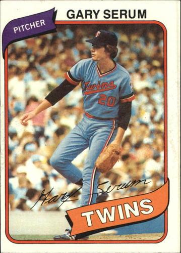 Photo of 1980 Topps #61 Gary Serum