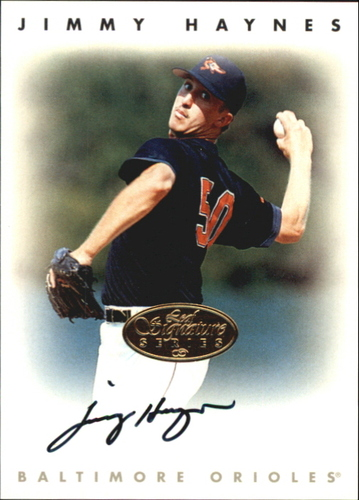 Photo of 1996 Leaf Signature Autographs Gold #99 Jimmy Haynes
