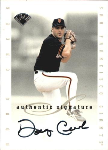 Photo of 1996 Leaf Signature Extended Autographs #38 Doug Creek SP/1950