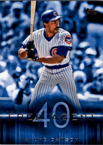 Photo of 2015 Topps Free Agent 40 #F407 Andre Dawson