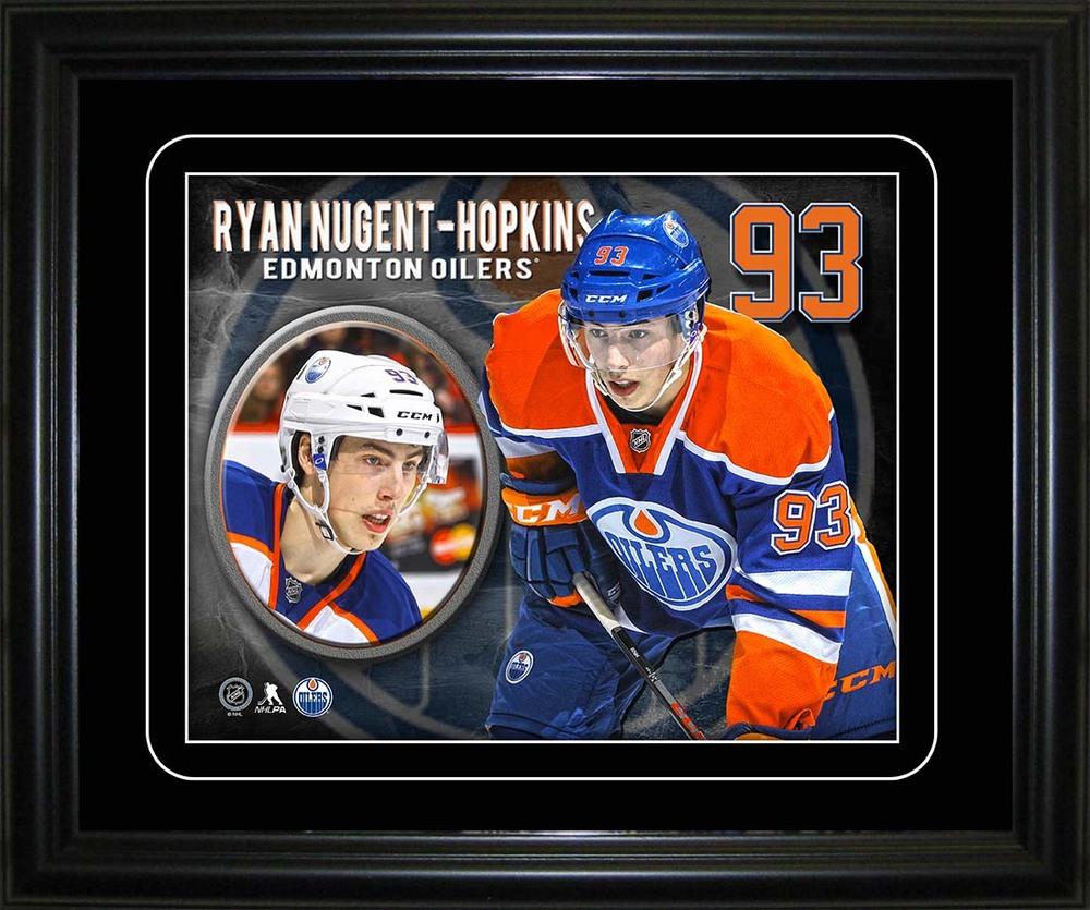 Ryan Nugent-Hopkins - Framed Oilers 10x13 Player Portrait