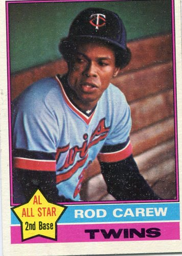 Photo of 1976 Topps #400 Rod Carew -- Hall of Famer