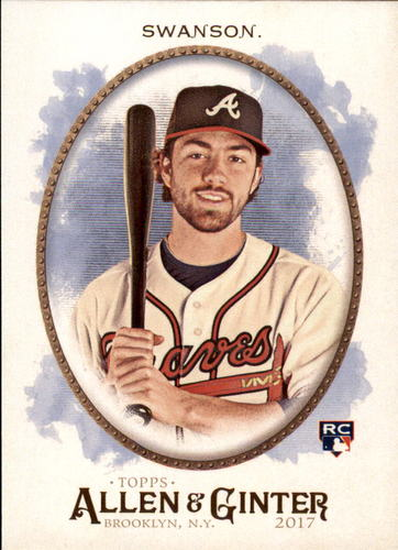 Photo of 2017 Topps Allen and Ginter #40 Dansby Swanson Rookie Card