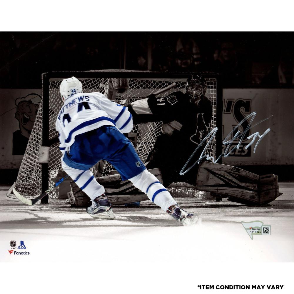 Auston Matthews Toronto Maple Leafs Autographed 8