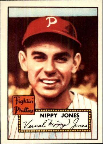 Photo of 1983 Topps 1952 Reprint #213 Nippy Jones