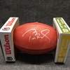 PCF - Patriots Tom Brady signed authentic football w/ Super Bowl 52 logo